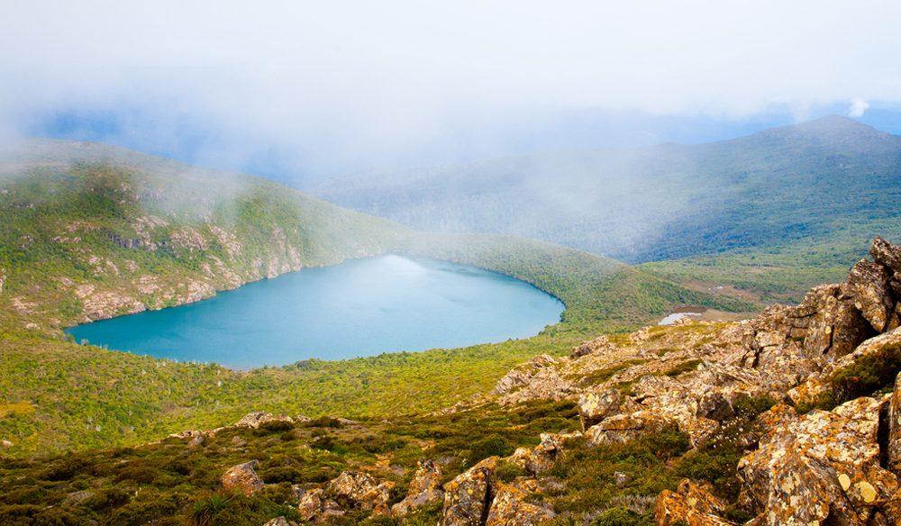Hartz Lake from Hartz Peak, Tasmania