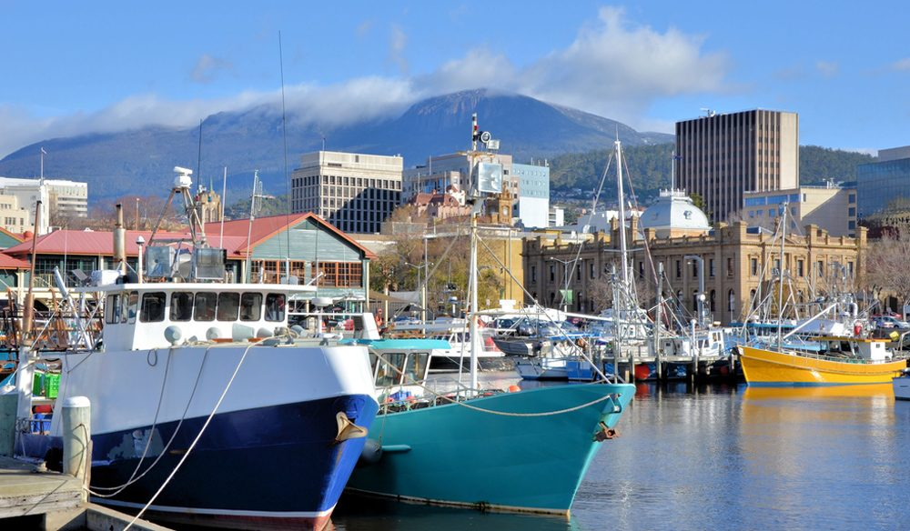 Relaxed, unhurried: Hobart, Tasmania.