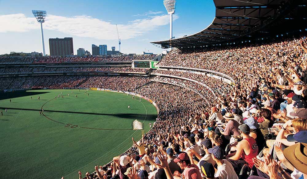 The MCG, Melbourne