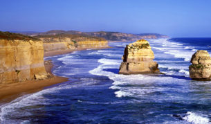 What the... The Great Ocean Road's 12 Apostles