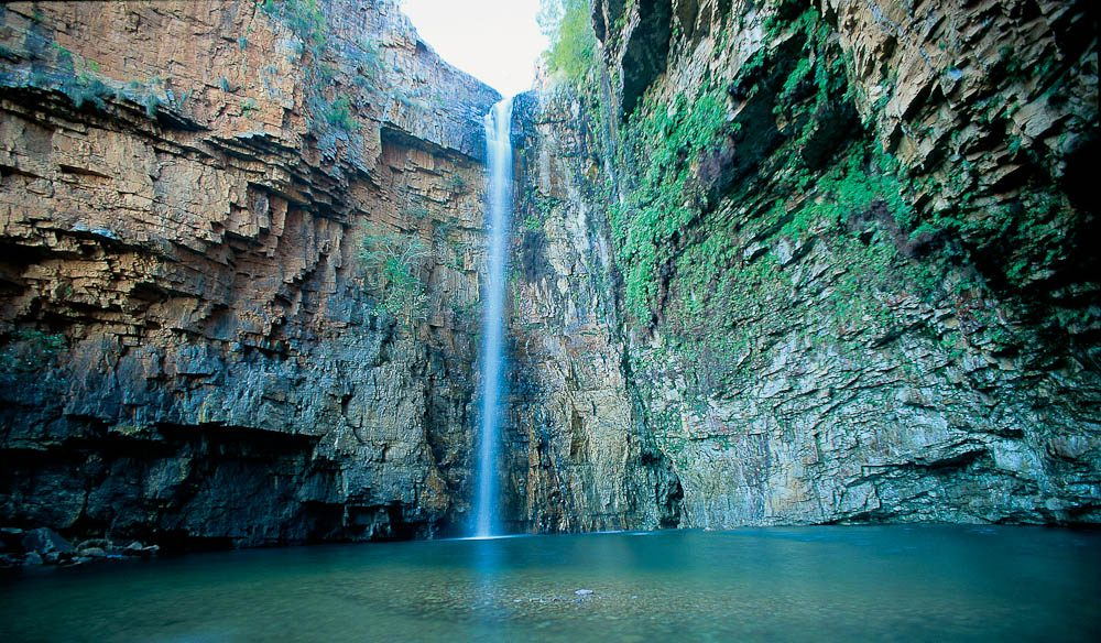 Just up from the Kimberley's El Questro, the gorgeous Emma Gorge waterfall.