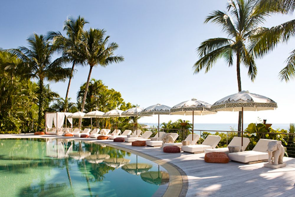 Pool time: Elandra resort, Mission Beach, Queensland.