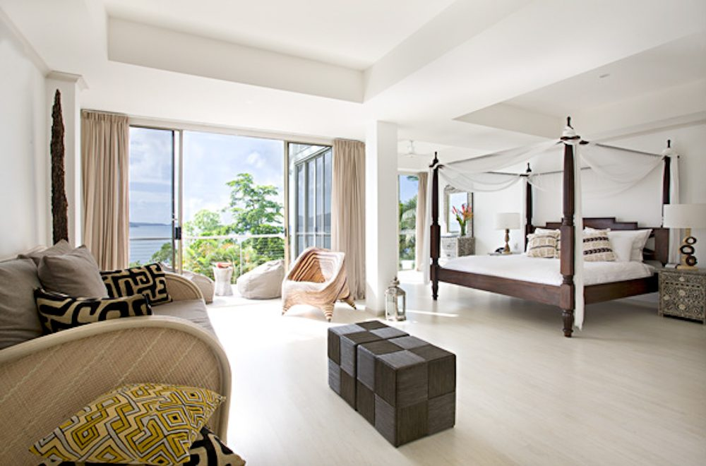 King suite: Elandra resort, Mission Beach, Queensland.