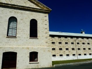 Fremantle Prison tours, Western Australia.