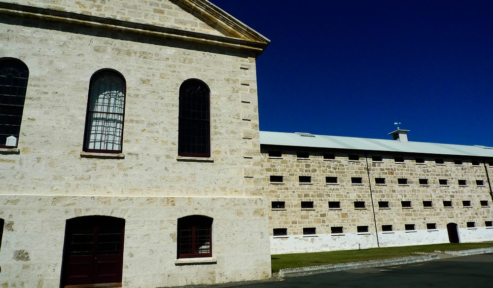 Fremantle Prison, WA - try the night tours of paddling