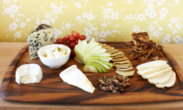 Enjoy a cheese platter at Fort Denison