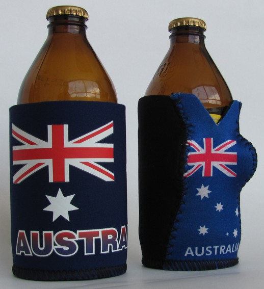 Its the ultimate male Australian's accessory - the Stubby Holder