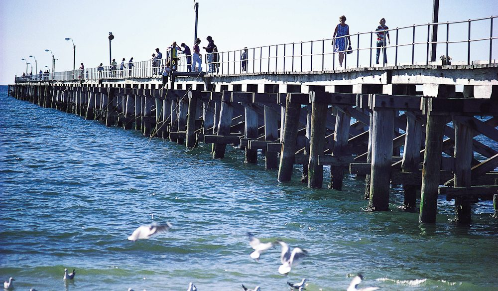 Iconic Busselton Jetty, WA.