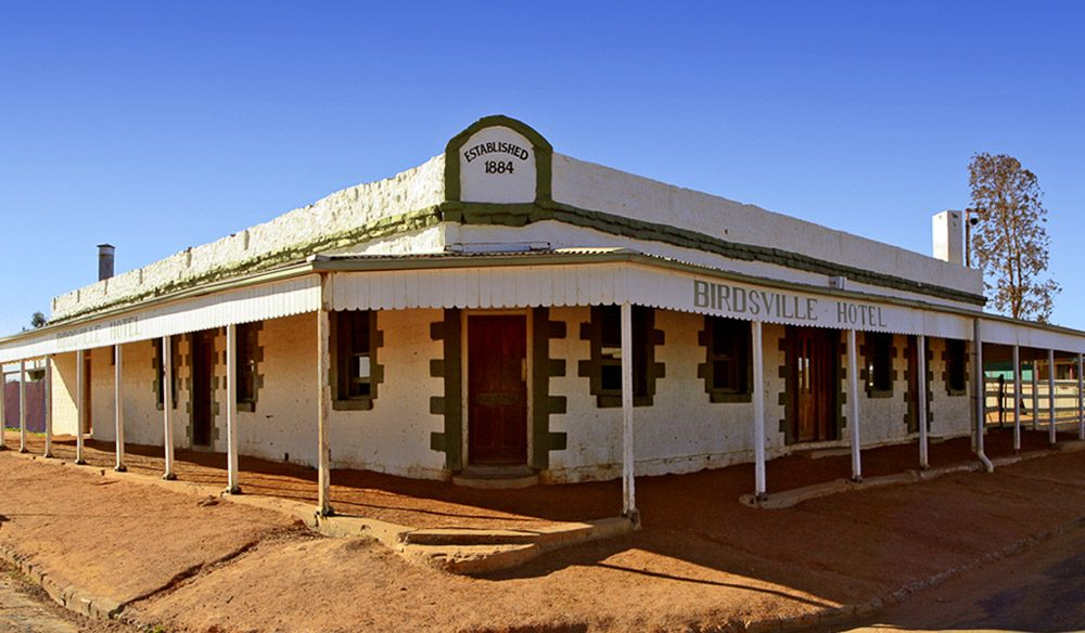 The iconic Birdsville Pub.