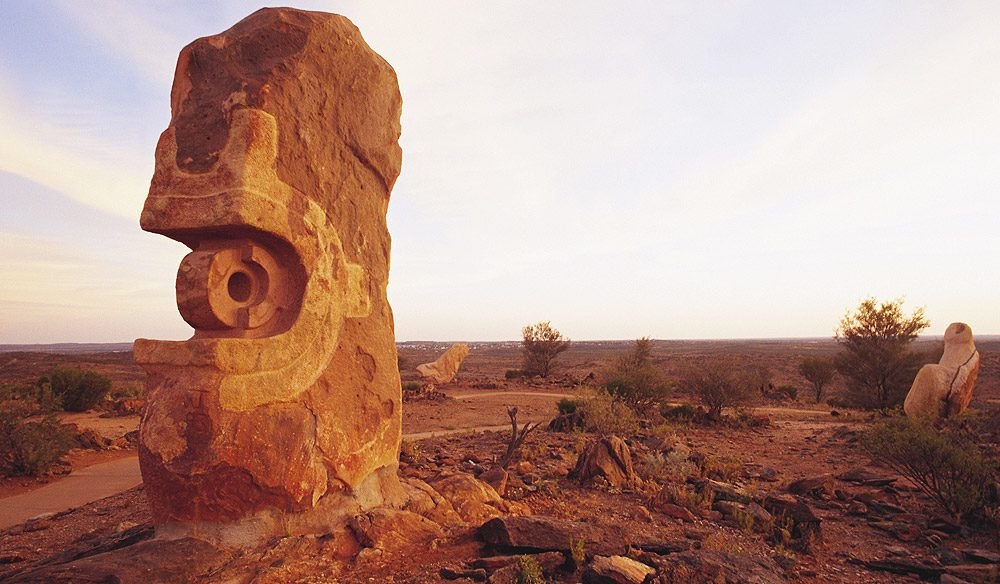 Sculpture Symposium Park. Broken Hill.