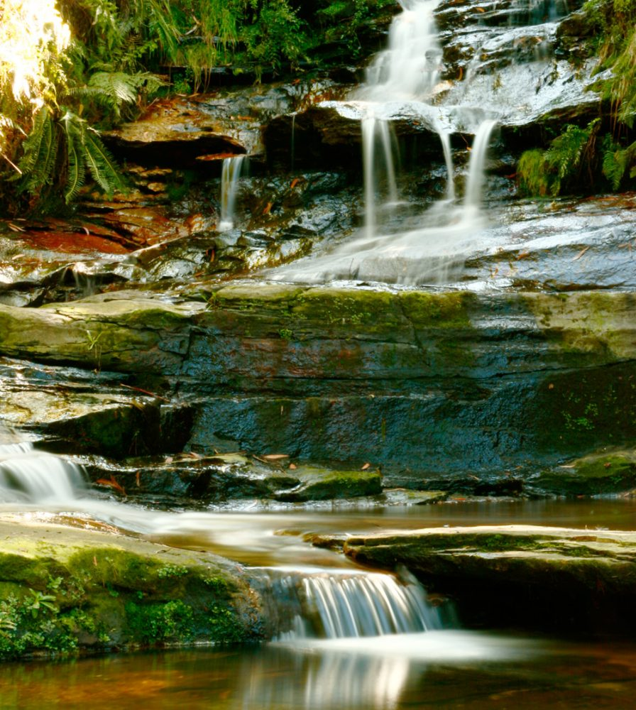 The Cascades at Leura. Image by George Suresh.