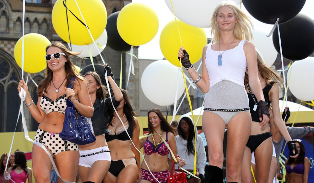 Action on the catwalk and off: Melbourne Fashion Week