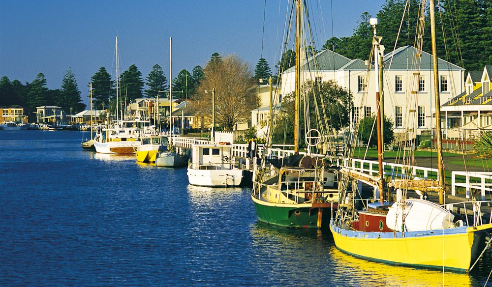 Picturesque Port Fairy, (photo: Tourism Victoria).