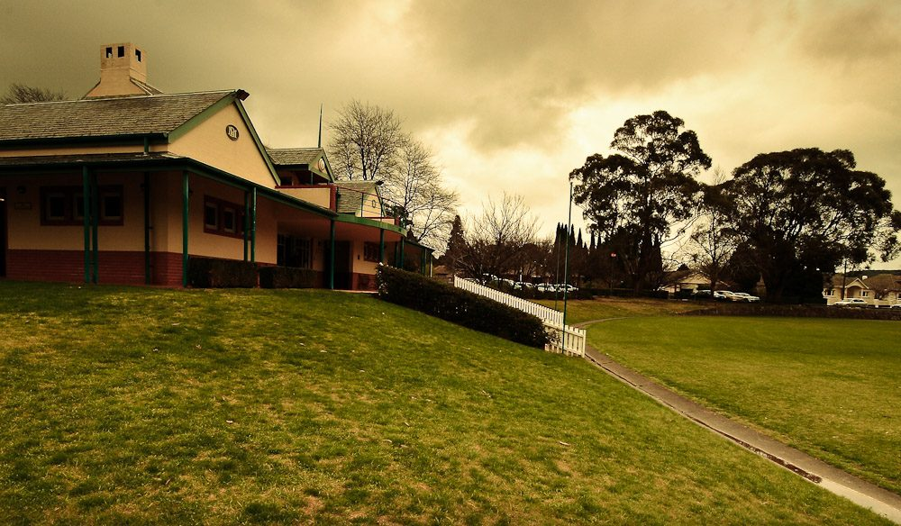 The legacy of sporting legend Don Bradman is kept alive at the Oval and Museum. Image by George Suresh.