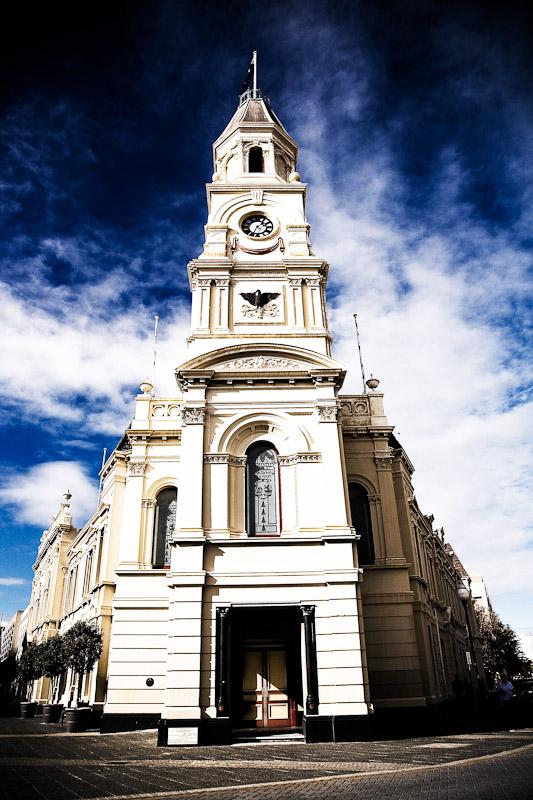 Fremantle's statuesque Town Hall. Image by Jonathan Pang www.jonathanpang.com.au.