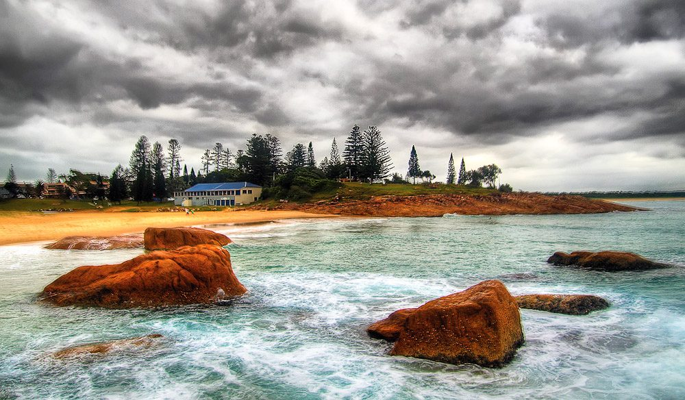South West Rocks. Image By Steve Daggar