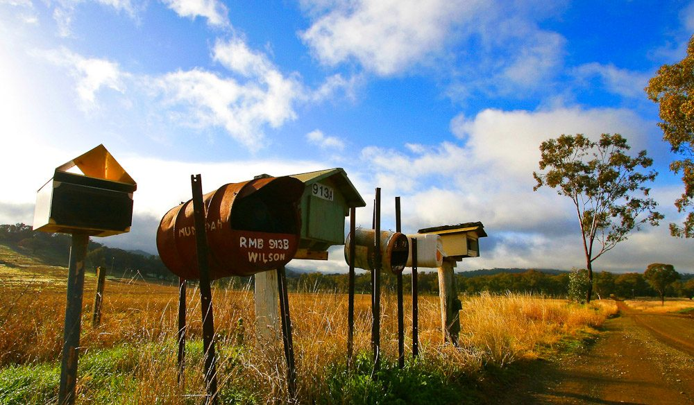 The Tamworth countryside. Image courtesy of Shaun Lane