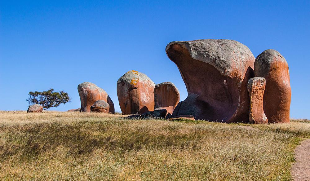 Murphy's haystacks, Mortana, South Australia