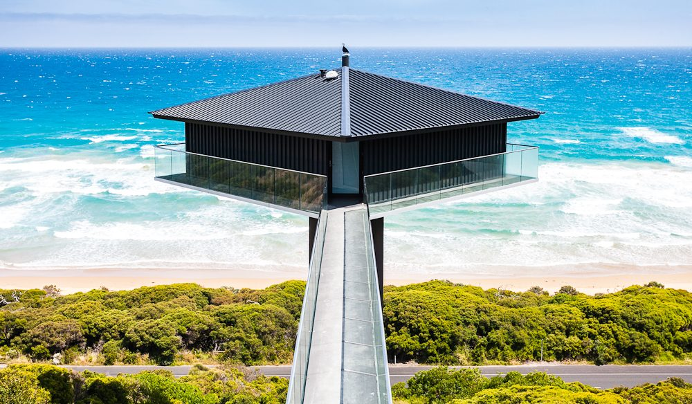 Great Ocean Road icon, The Pole House, Fairhaven.