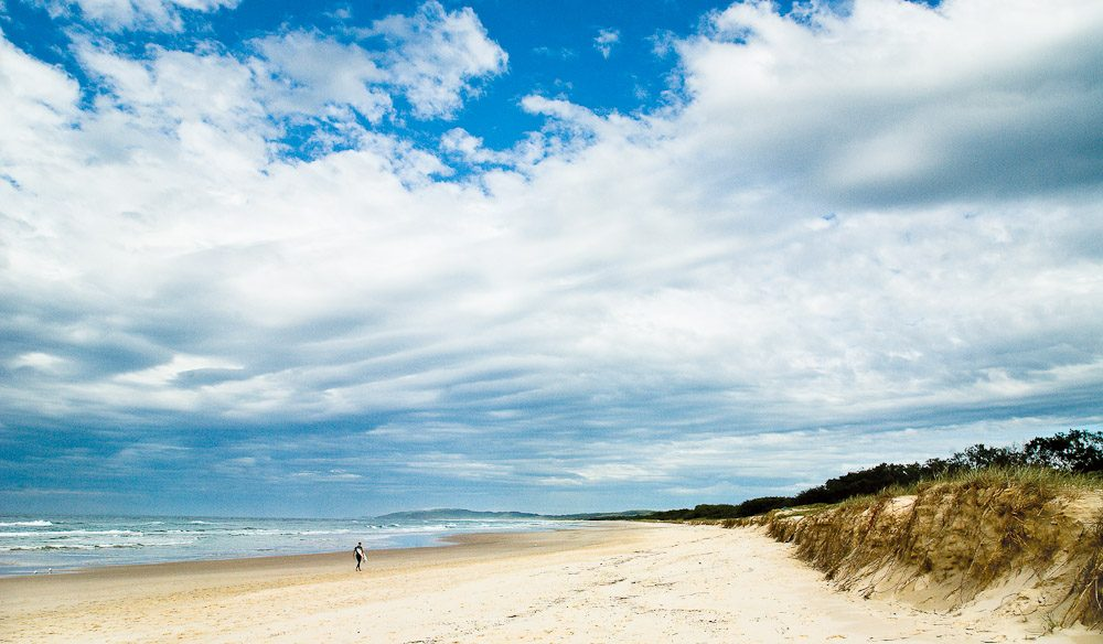 Tallow Beach in Byron Bay