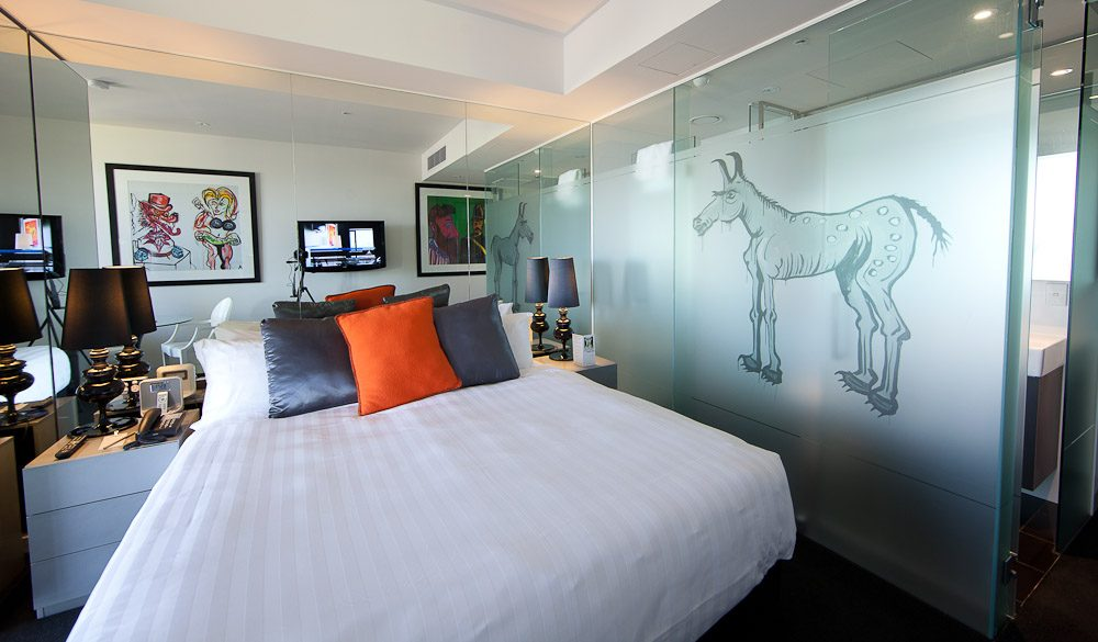 Interior of a standard room - The Cullen Hotel Melbourne