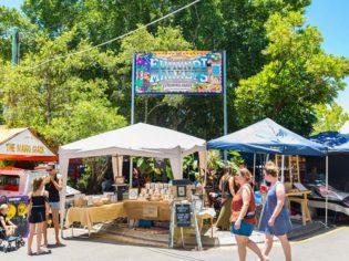 Eumundi Markets Noosa QLD Entrance