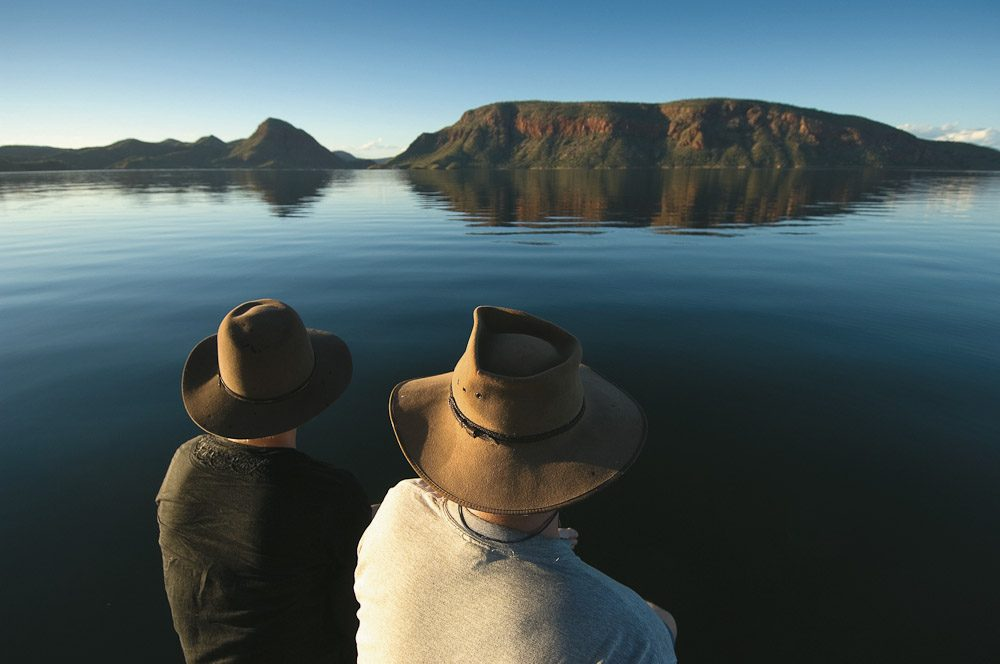 Part of the Ord River Irrigation Scheme, Lake Argyle is the second-largest artificial lake (by volume) in Australia.