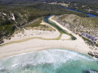 River Mouth, Margaret River, Western Australia