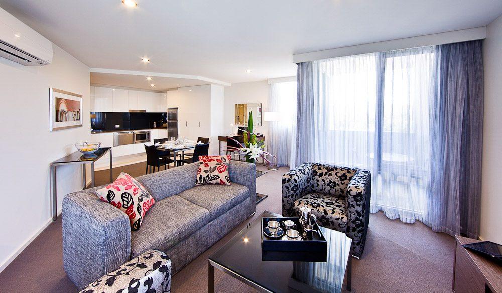 Lounge area - Aria Hotel Canberra