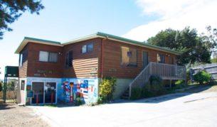 Affordable beach break, Bicheno Backpackers Hostel