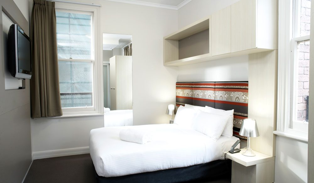 A Double Room - The Pensione Melbourne