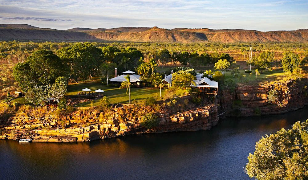 """The amazing contrast of the Chamberlain River with the rugged landscape of the Cockburn Ranges – simply breathtaking."" – Joseph Boulos, Delaware North Australia Parks and Resorts"