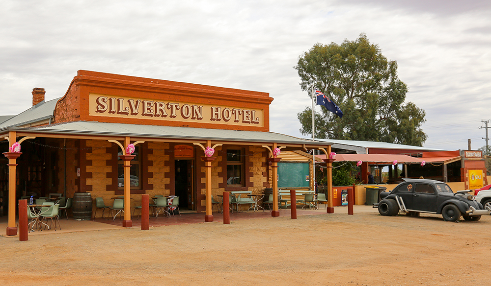 Silverton, Australia - October 21, 2016: Silverton Hotel just outside Broken Hill Australia