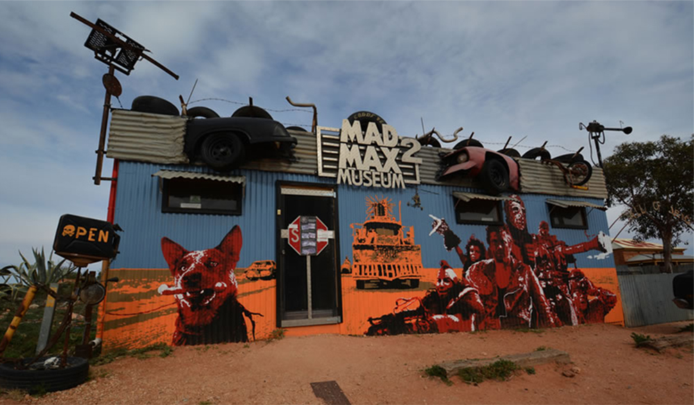 The Max Max museum in all its wonderfully weird glory