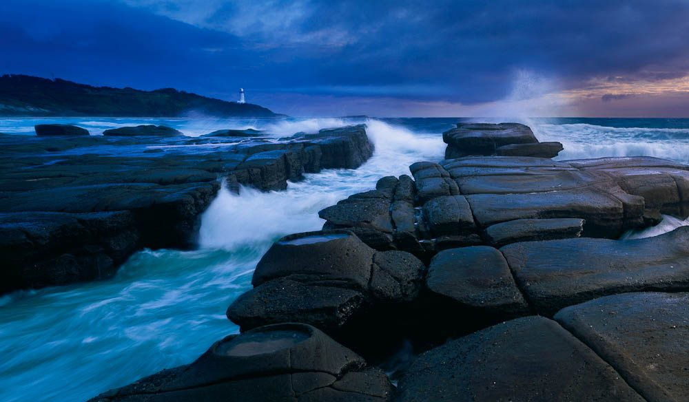 In the distance stands Norah Head Lighthouse, one of the most recognisable features of the NSW Central Coast - Ken Ducan
