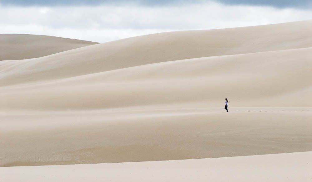 The Hamersley Dunes are just like a white-sand Sahara - Elisabeth Knowles