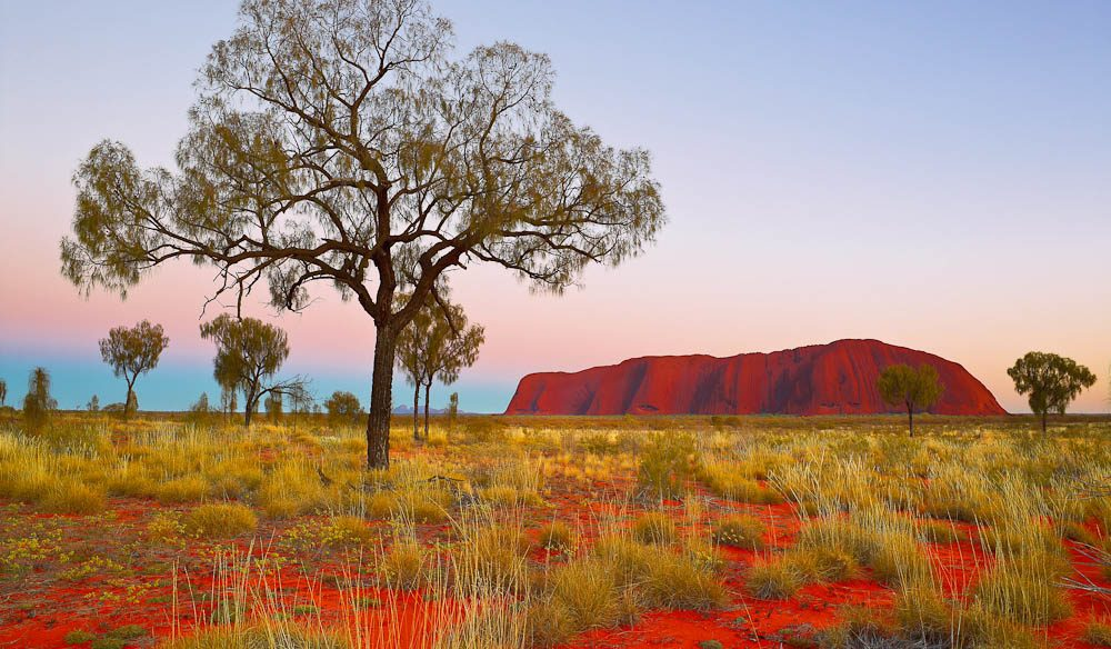 Indigenous Australians believe Uluru to be the centre of all Dreaming - Ken Duncan