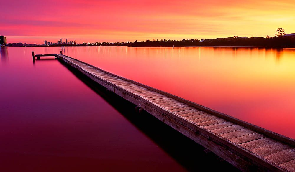 """Deepwater Point is my favourite location to visit in Perth, especially at sunrise"