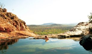 Gunlom Waterfall Top Pool