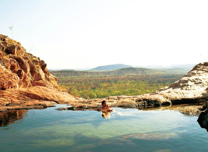 Gunlom Waterfall Top Pool