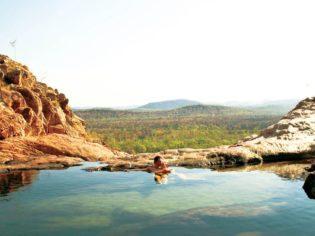 040 Gunlom Waterfall Top Pool, NT