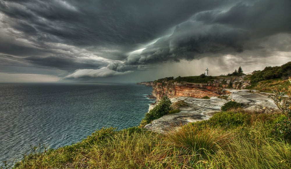 """It's one of the most spectacular views in Sydney during a thunderstorm."