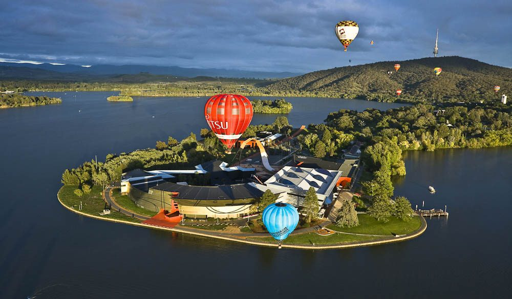 """Rising above it all at dawn in a balloon is one of the most memorable, shifting views"