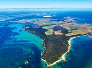 Cape Grim from the air, TAS
