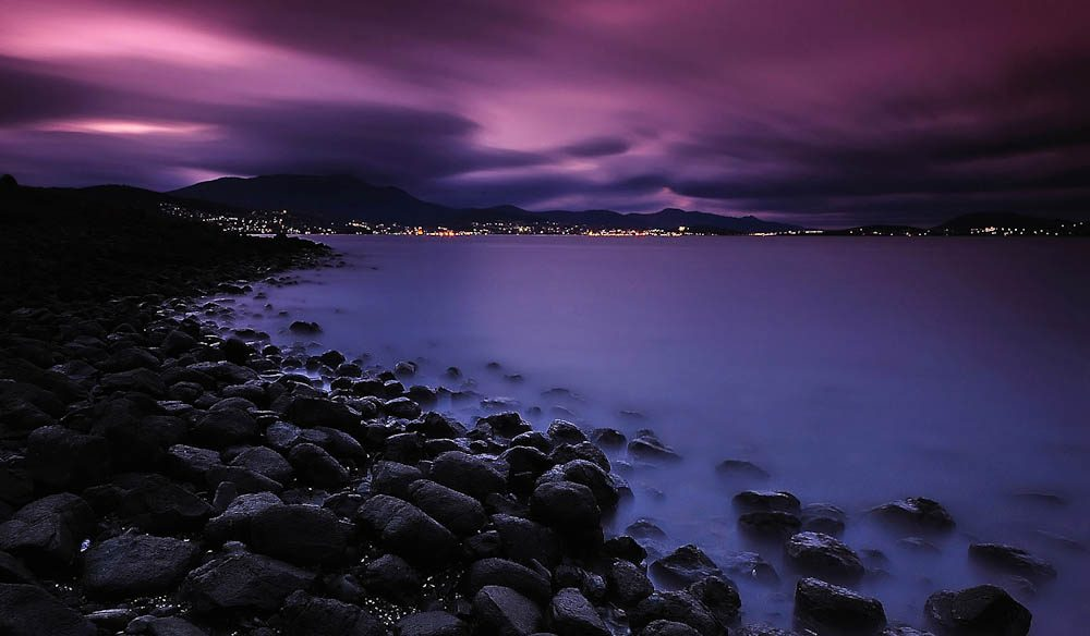 """The best way to view Hobart and Mt Wellington is from the eastern side of the Derwent River"
