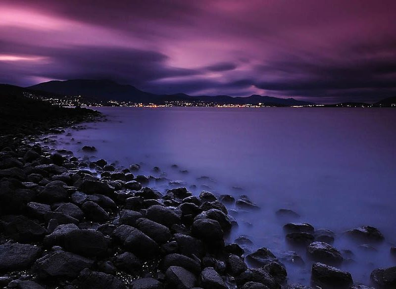 056 Hobart from Tranmere, TAS