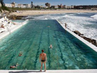 081 Bondi beach from Icebergs, NSW