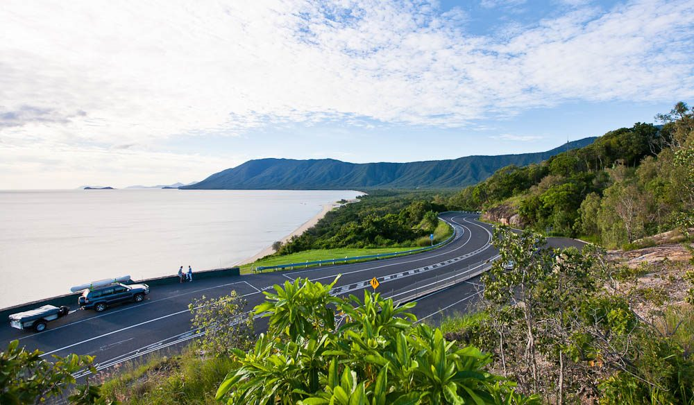 """The road between Cairns and Port Douglas is as good as you'll get anywhere in the world, with amazing views along the drive you can pull over and really take it in."" – Dale Flack, Tourism Tropical North Queensland"