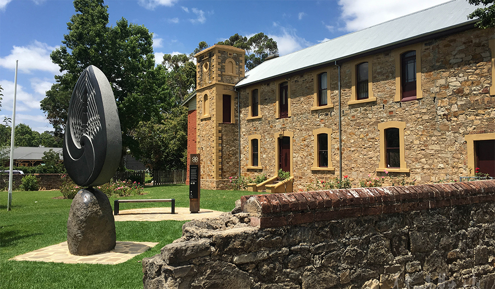 The Hahndorf Academy, built 1857 as as a school of higher learning.