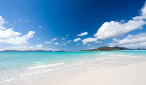 Whitehaven Beach: perhaps the best in the world?